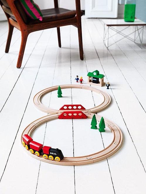 Brio Classic Figure 8 Wooden Train Set 33028