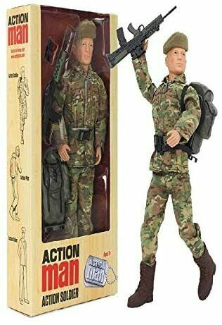 Action Man Action Soldier Doll Figure