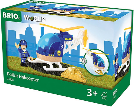 Brio 33828 Wooden Police Helicopter