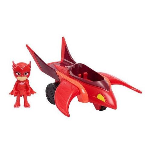 PJ Masks Owl Glider Vehicle and Owlette Figure