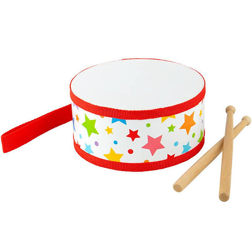 Junior Wooden Drum Bigjigs
