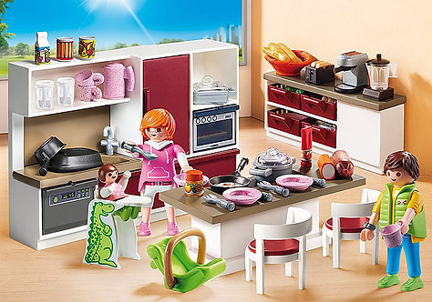 Playmobil 9269 City Life Kitchen Set