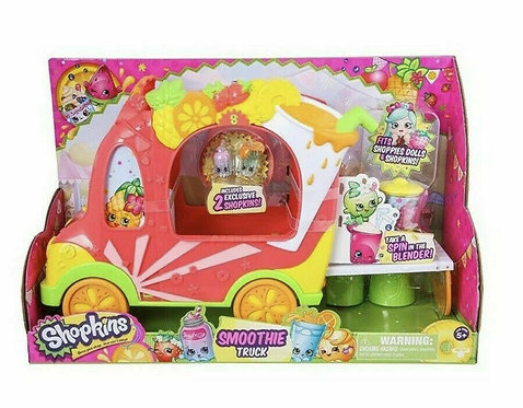 Shopkins Shoppies Smoothie Truck Playset Toy