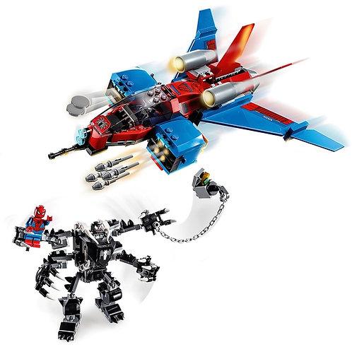 Lego 76150 Marvel Spiderman Jet vs Venom Mech Playset