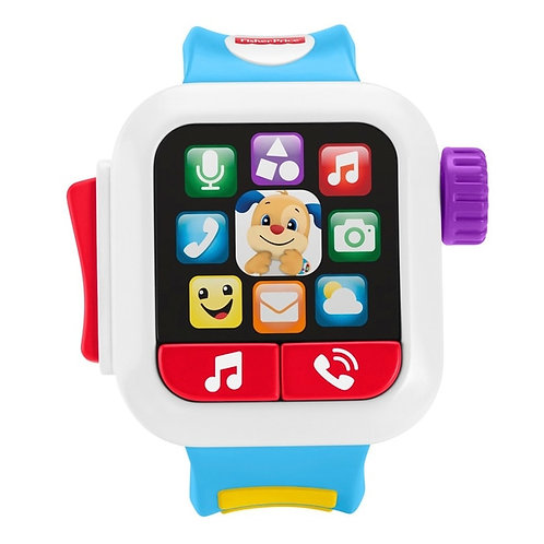 Fisher-Price Laugh & Learn Time to Learn Smart Watch smartwatch baby toddler toy