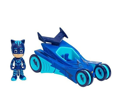 PJ Masks Cat-Car Vehicle and Catboy Figure