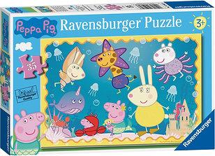 Peppa Pig - Underwater Adventure 35pc Jigsaw Puzzle