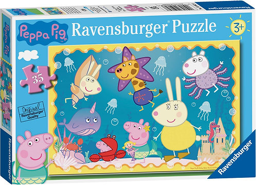 Peppa Pig - Underwater Adventure 35pc Jigsaw Puzzle Kids