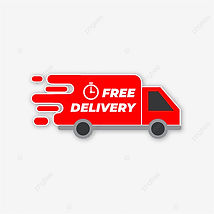 pngtree-red-delivery-truck-label-png-ima