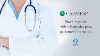 CREMESP Define normas de videochamadas para pacientes internados