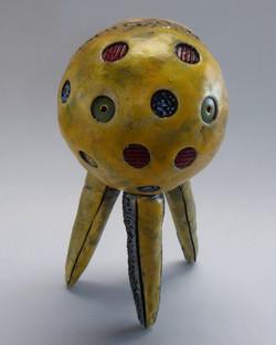 Tripod Head in Yellow