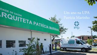 Um Ano com a UPA Patrícia Marinho