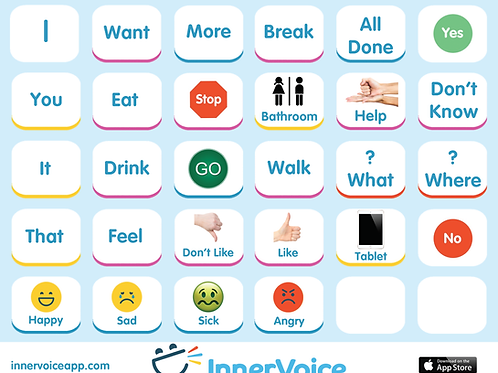 Core Board -- AAC Communication for Autism