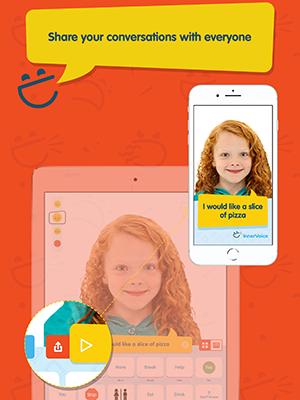 innervoice app sample page