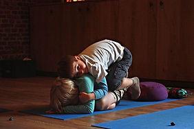 Yoga voor kinderen plakshops