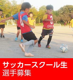 サッカースクール生選手募集