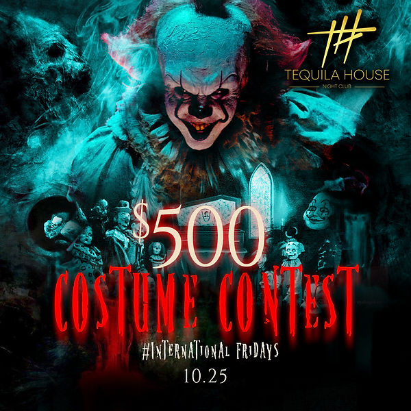 1019 01 $500 COSTUME CONTEST #Internatio
