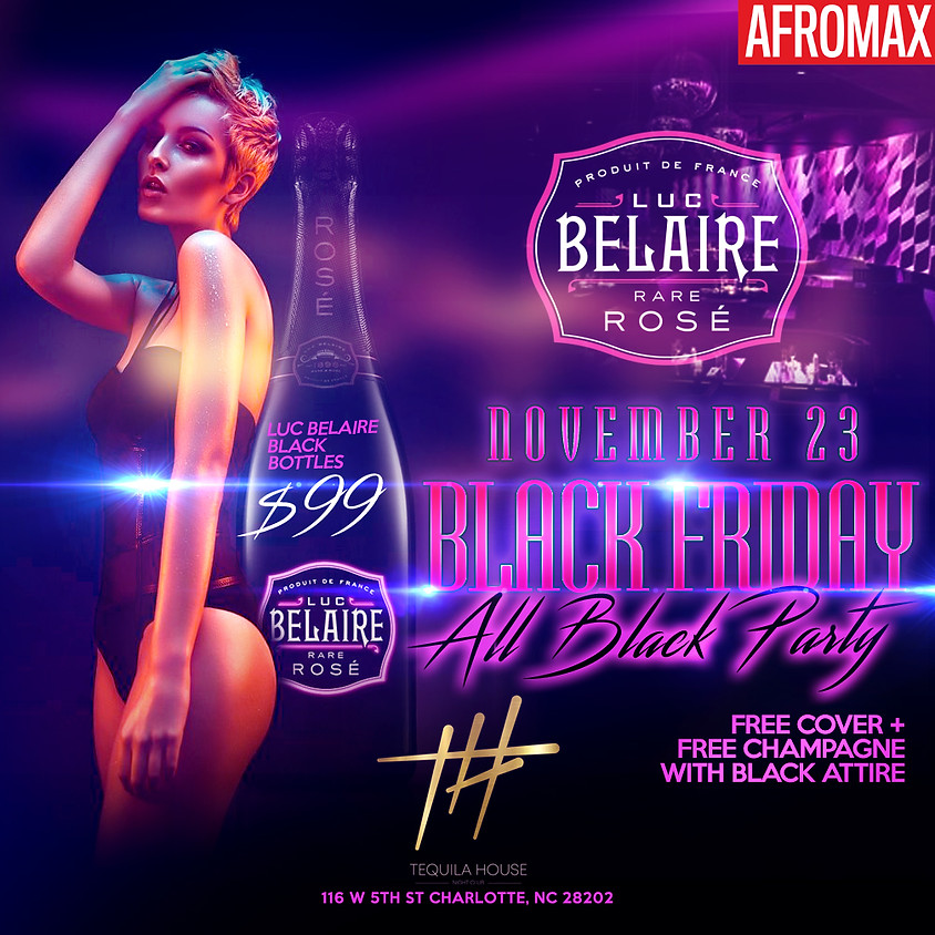 """BLACK FRIDAY """"ALL BLACK PARTY"""""""