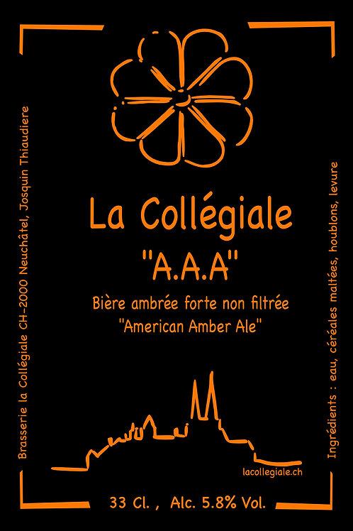 Bière artisanale la AAA | Brasserie la Collégiale | Neuchâtel