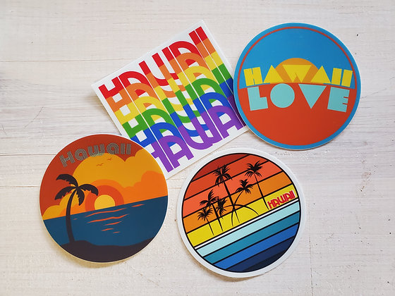 HAWAII LOVE STICKER PACK