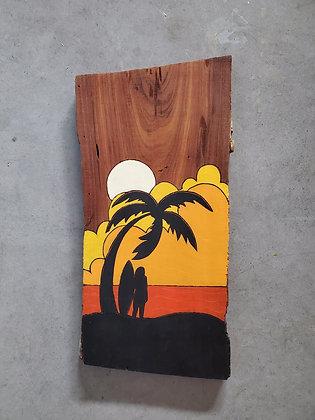 SUNSET SURF (KOA WOOD)