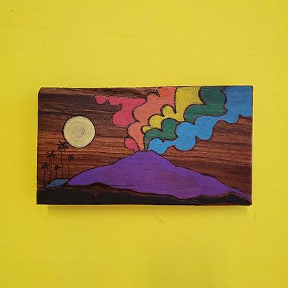 RAINBOW VOLCANO (Koa wood)