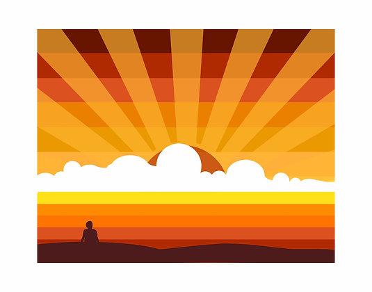 A BAY SUNSET WATCH