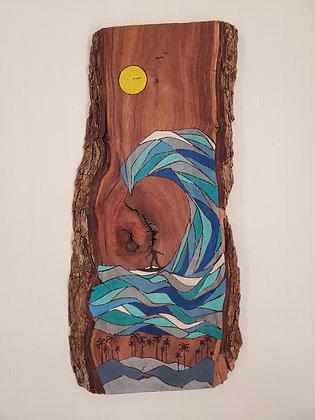 BIG ISLAND SURF (koa wood)