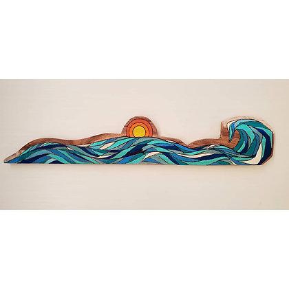 SURFIN PUAKO (koa wood)