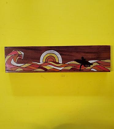 CATCH A WAVE (koa wood)