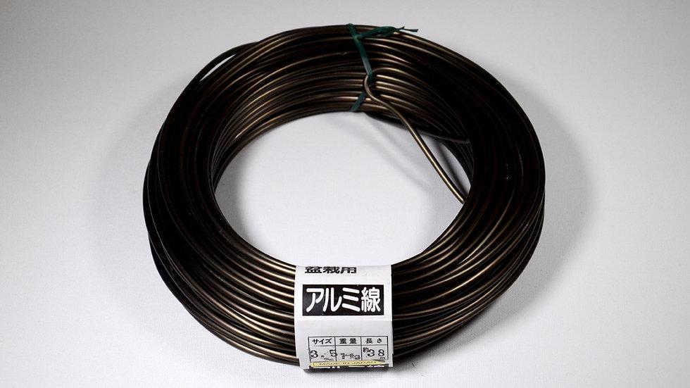 Aluminio negro japonés 3.5mm