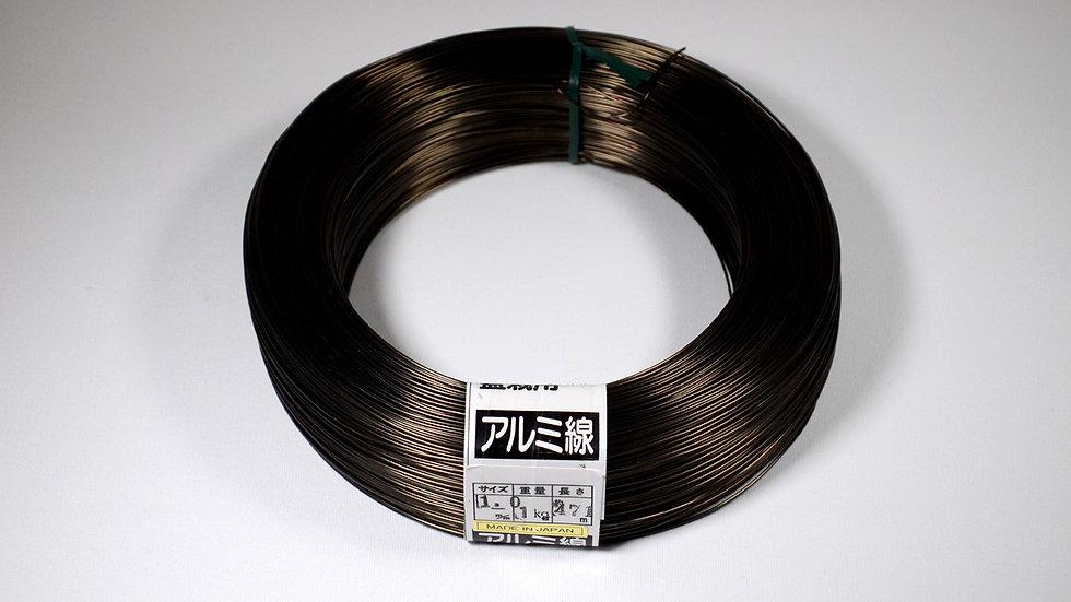 Aluminio negro japonés 1.0mm