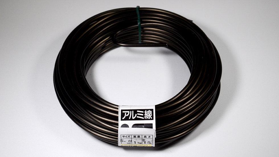 Aluminio negro japonés 5.0mm