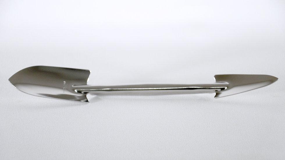 Pala doble de acero inoxidable 260mm #1396