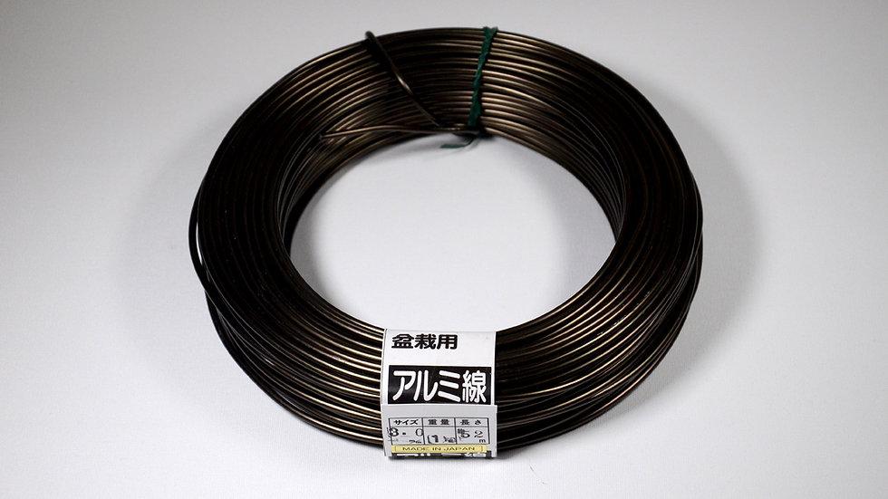 Aluminio negro japonés 3.0mm
