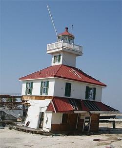 Canal Lighthouse after Katrina