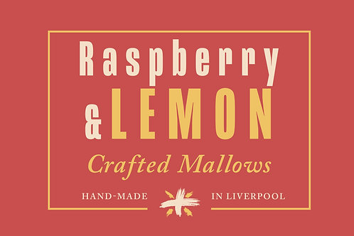 Raspberry & Lemon - Crafted Mallows