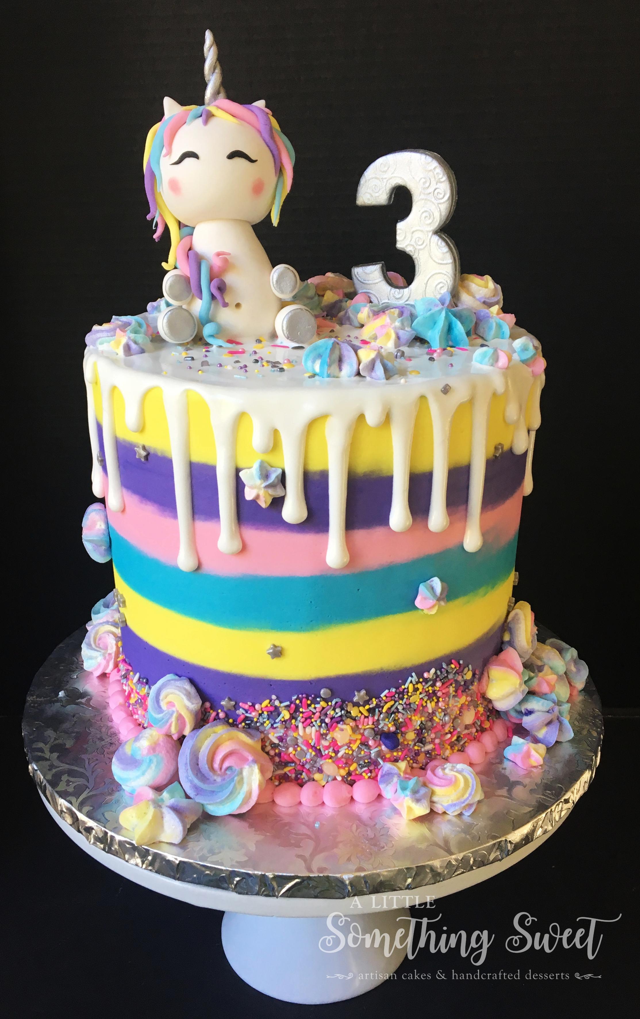 Rainbow Drip Unicorn