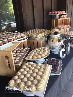 Rustic Mini Cupcakes