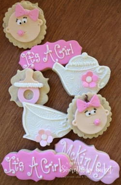 Baby Girl Tea Party