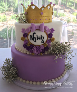 Purple Baby Shower
