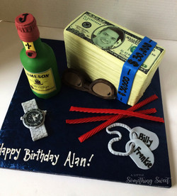 Stack of Money Cake