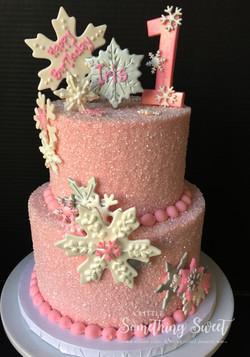 Pink Snowflake Wonderland