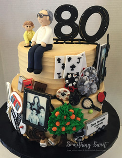 All of his memories in cake form