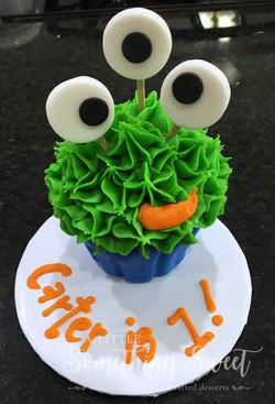 Monster (jumbo cupcake)