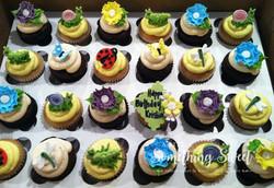 Spring Time Bugs (mini cupcakes)