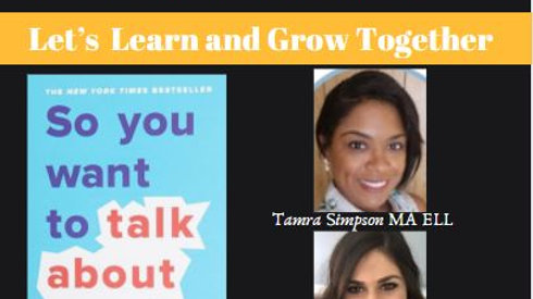 """So You Want to Talk About Race"" Book Study Ticket"