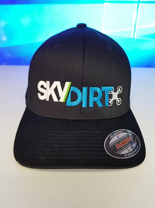 BLACK S/M FLEXFIT CAP