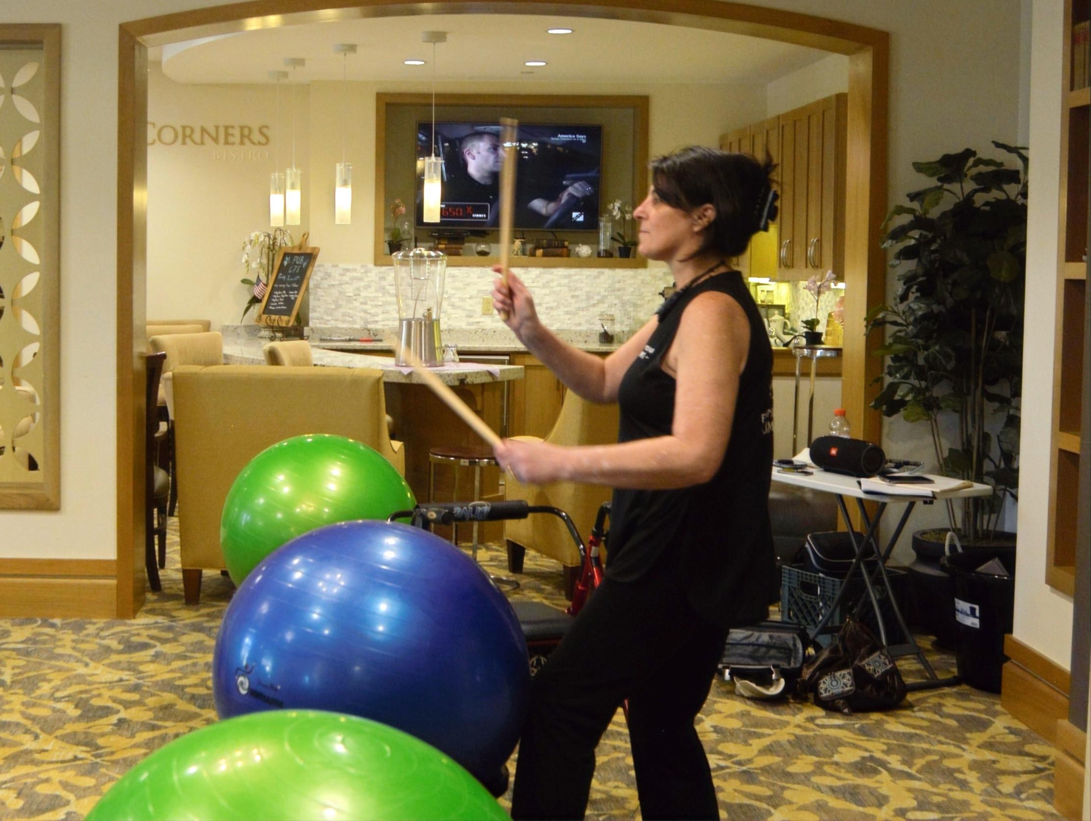 Sponsored Drums Alive Virtual Classes