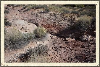 Clay in Southeast Utah